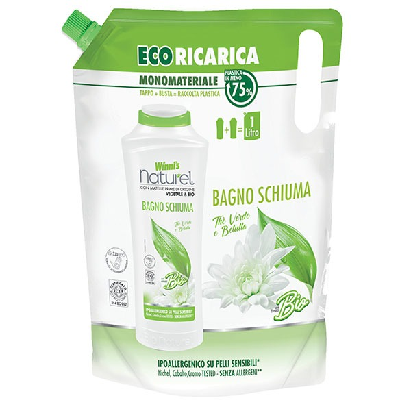 Green Tea and Birch Bubble Bath Eco-Refill